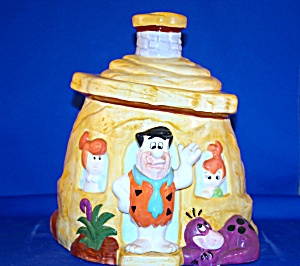 Flintstone House Cookie Jar