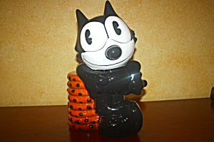 Felix The Cat Limited Edition Cookie Jar Rare