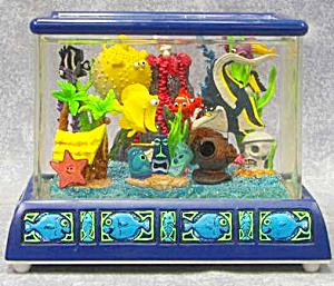 RARE  Finding Nemo ;Fishtank Musical Snow   (Image1)
