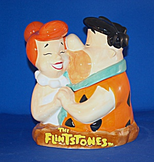 FRED & WILMA FLINTSTONE COOKIE JAR (Image1)