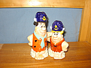 Fred & Barney With Pooba Hats S & P
