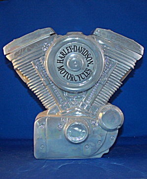 HARLEY DAVIDSON ENGINE COOKIE JAR (Image1)
