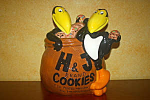 Heckle & Jeckle Cookie Jar (Rare)