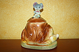 Herman And Katnip Cookie Jar