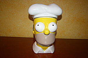 Rare Homer Simpson Cookie Jar