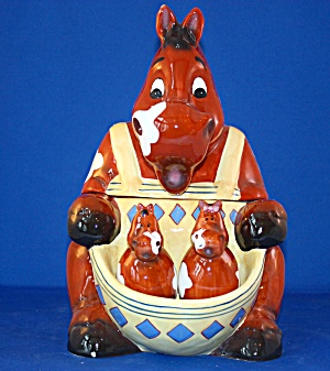 HORSE COOKIE JAR AND SALT & PEPPER (Kitchen Collectibles-Cookie Jars ...
