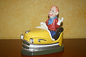 Howdy Doody Bumper Car Cookie Jar (Rare)