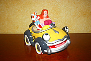 RARE JESSICA AND ROGER RABBIT COOKIE JAR (Image1)
