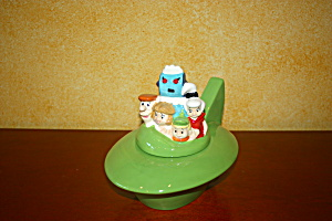 The Jetsons Spaceship Cookie Jar