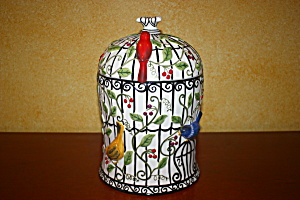 LA CAGE COOKIE JAR (Image1)