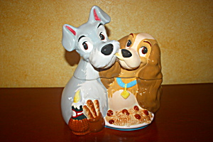 Lady And The Tramp Cookie Jar