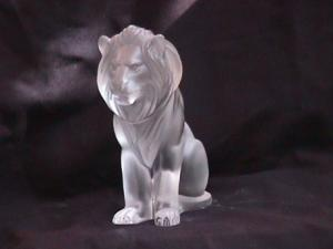 Lalique Crystal (Lion Bamara)