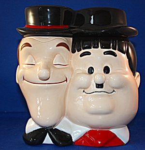 Laurel and Hardy cookie jar (Image1)