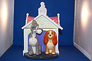 LADY & THE TRAMP COOKIE JAR (Image1)