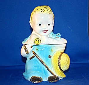 LITTLE BOY BLUE COOKIE JAR (Image1)