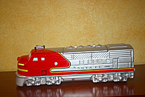 Lionel Santa Fe Cookie Jar