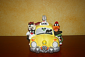 Looney Tunes Taxi Cookie Jar