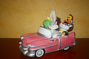 Looney Tunes Pink Convertible Cookie Jar