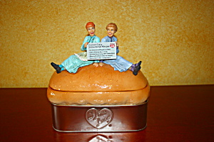 Lucy Colossal Loaf Of Bread Cookie Jar