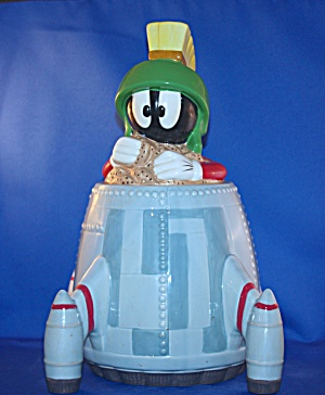 MARVIN IN ROCKET COOKIE JAR (Image1)