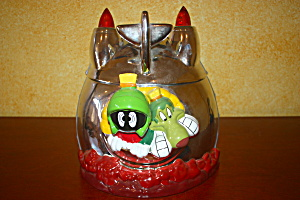 Marvin & K-9 Rocket Cookie Jar