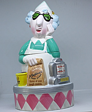 Maxine Waitress Cookie Jar