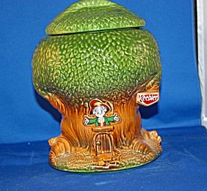 Mccoy Keebler Tree House Cookie Jar