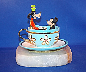MICKEY & GOOFY IN TEA CUP RIDE BY RON LEE (Image1)