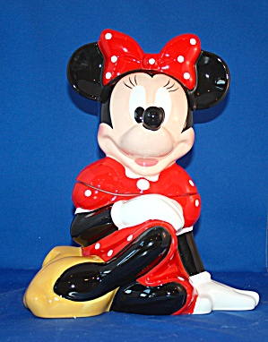 Minnie Mouse Sitting Cookie Jar