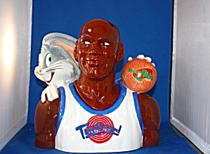 Michael Jordan & Bugs Bunny Cookie Jar