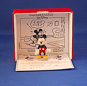 Mickey Mouse Disney Memory Hand Painted Metal