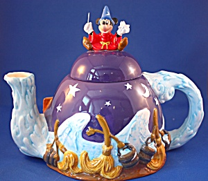 Mickey Mouse Socerer Disney Teapot