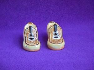 ELVIS GUITAR SHOES SALT & PEPPER (Image1)