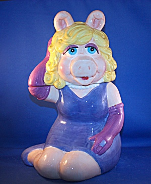 MISS PIGGY COOKIE JAR (Image1)