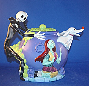VERY RARE  NIGHTMARE BEFORE CHRISTMAS TEAPOT (Image1)