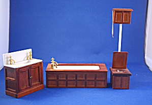 Old Fashion 3 Piece Bathroom Set