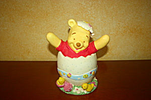 Pooh Easter Egg Cookie Jar