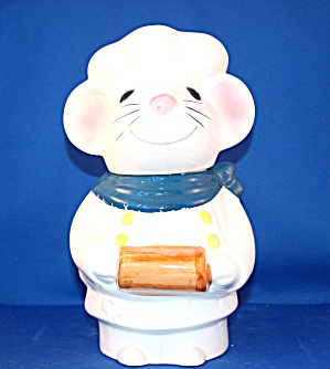 Metlox Pierre Mouse Cookie Jar