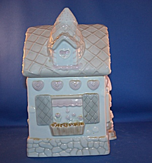 PRECIOUS MOMENTS ICE CREAM STORE COOKIE JAR (Image1)