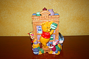 Pooh Hutch Cookie Jar