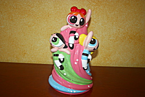 Powder Puff Girls Cookie Jar