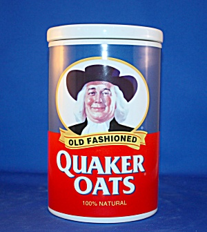QUAKER OATS ANNIVERSARY COOKIE JAR (Image1)