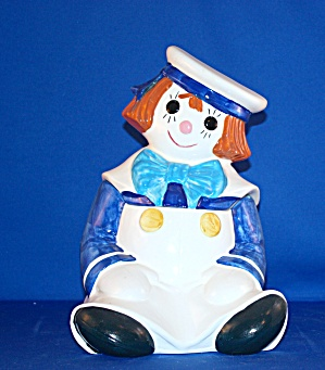 Metlox Raggedy Andy Cookie Jar
