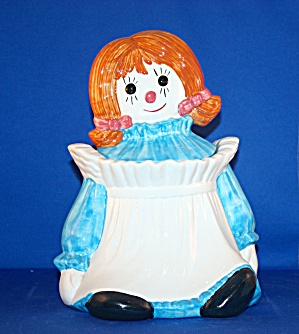 Metlox Raggedy Ann Cookie Jar