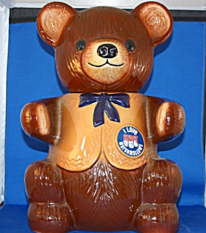 REGAL CHINA KRAFT BEAR COOKIE JAR (Image1)