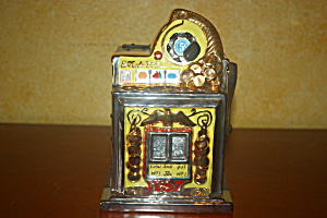 Roll-a-top Slot Machine Bank