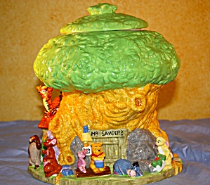 MR SANDERS TREE HOUSE COOKIE JAR (Image1)
