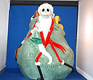 SANTA JACK NIGHTMARE BEFORE XMAS COOKIE JAR (Image1)