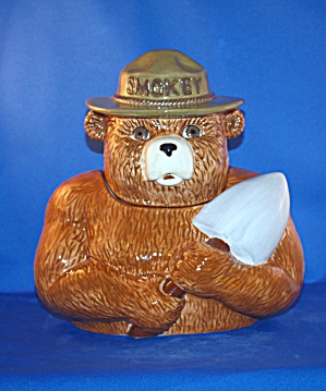 Smokey The Bear Cookie Jar