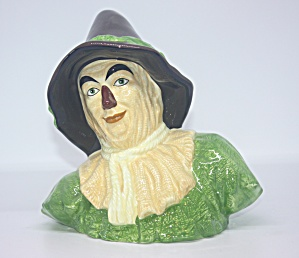 Wizard Of Oz Scarecrow Bust Bank